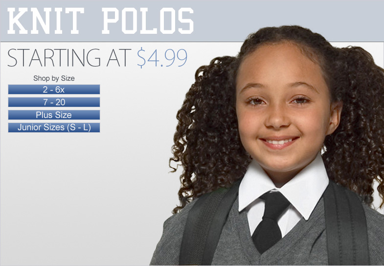 Girls Uniforms - Polos