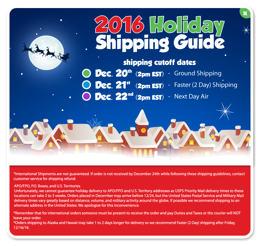 Cookie's Kids 2016 Holiday Shipping Guide