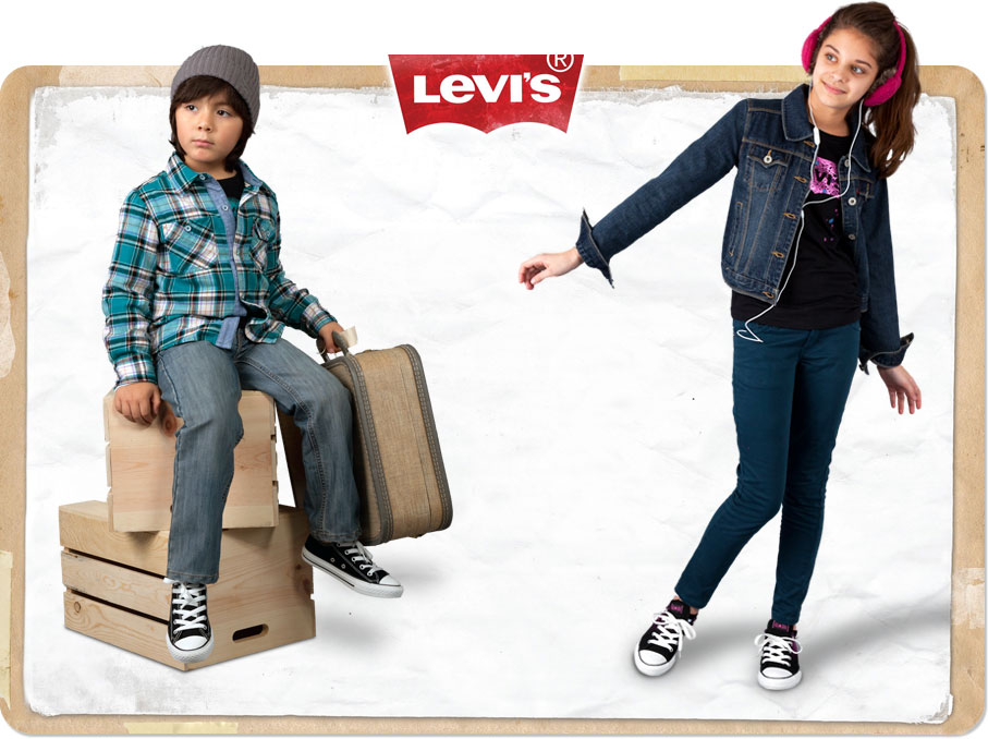 Little Kids Size  Levis Boy Shoes