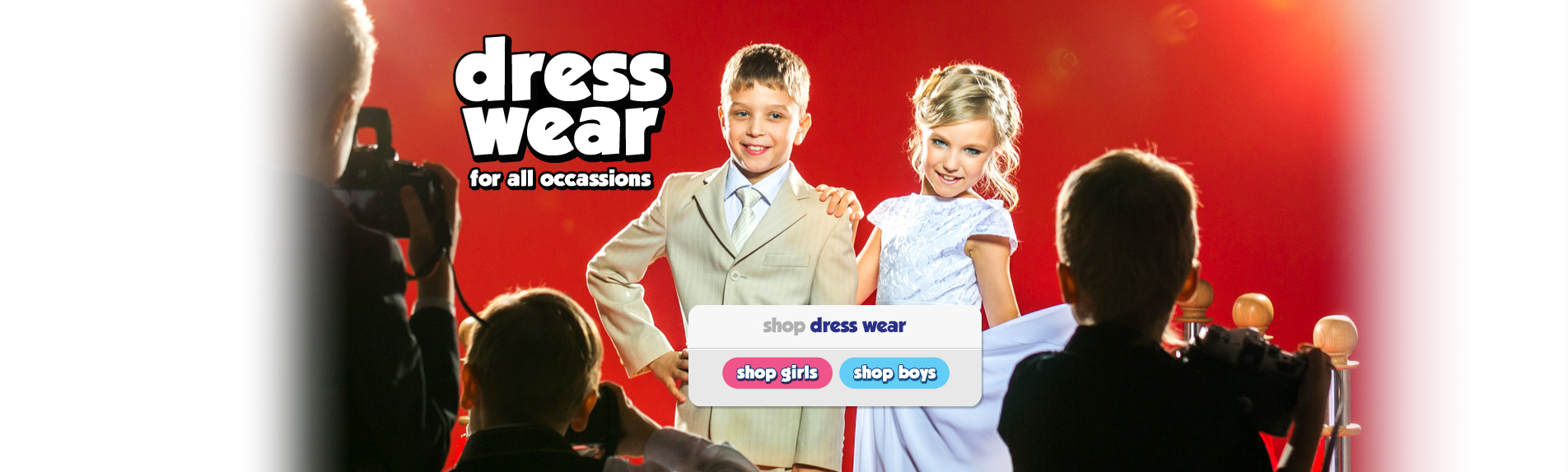 Shop Boys and Girls Dress Wear