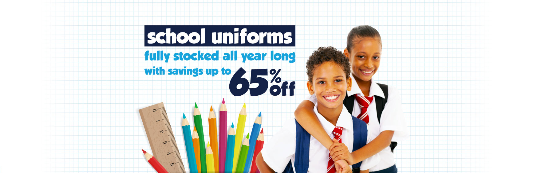 Shop Boys and Girls School Uniforms