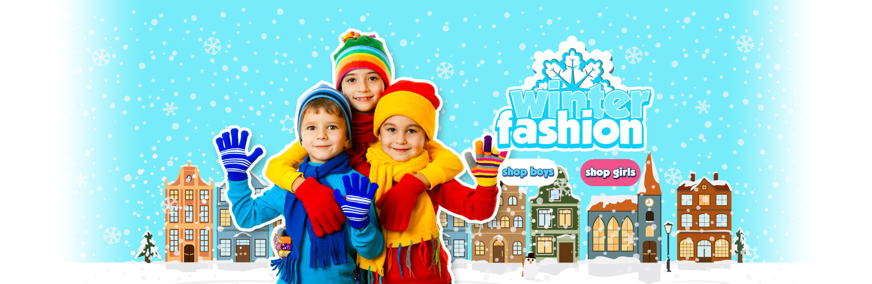 Shop Boys and Girls Winter Fashion