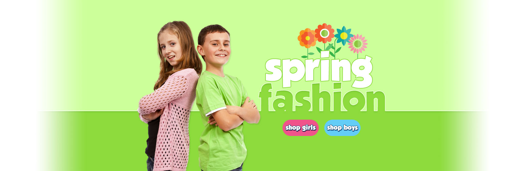 Shop Boys and Girls Spring Fashion