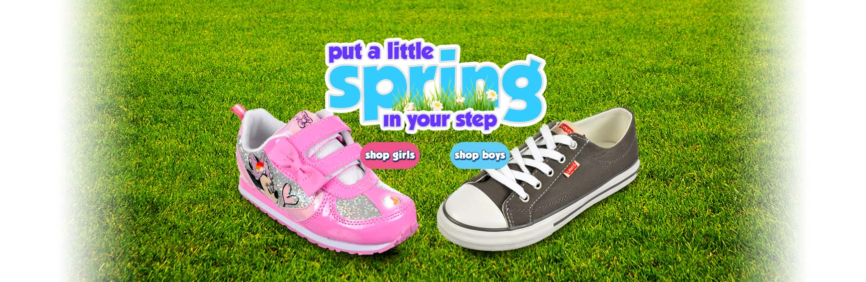 Put a Little Spring in Your Step - Shop Boys and Girls Shoes
