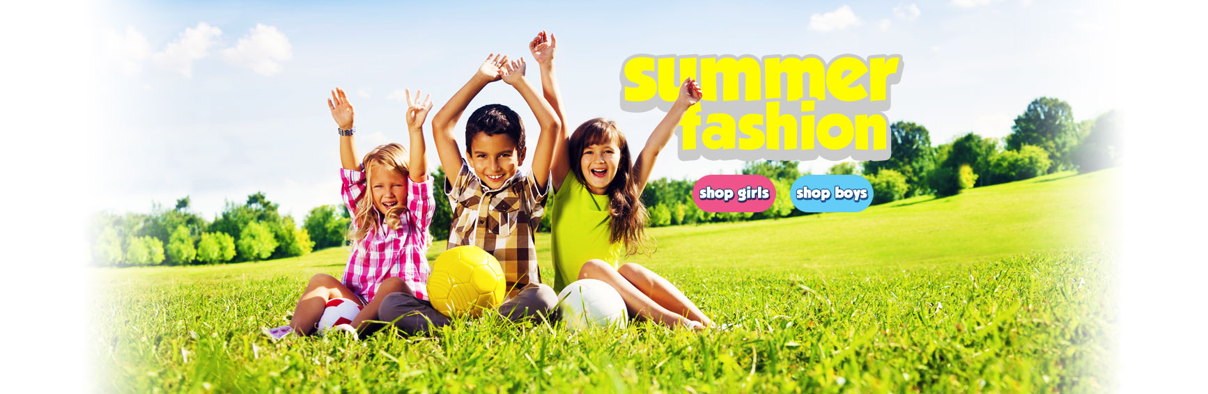 Shop Boys and Girls Summer Fashions