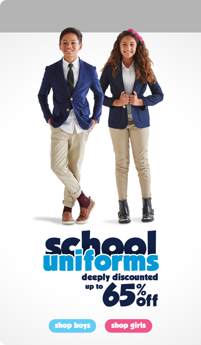 Shop Boys and Girls Uniforms