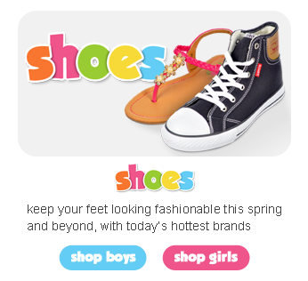 Shop Boys and Girls Shoes