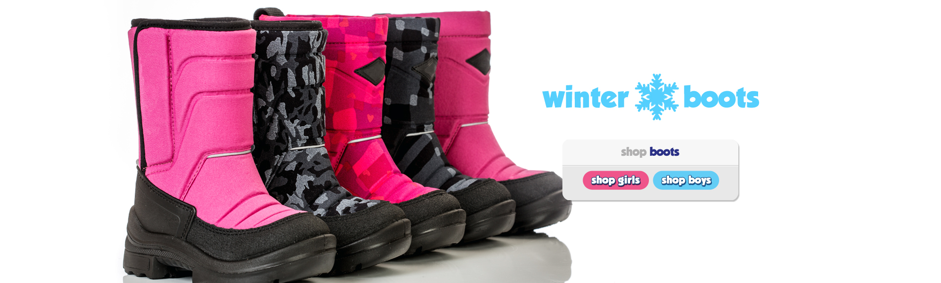 Shop Boys and Girls Winter Boots