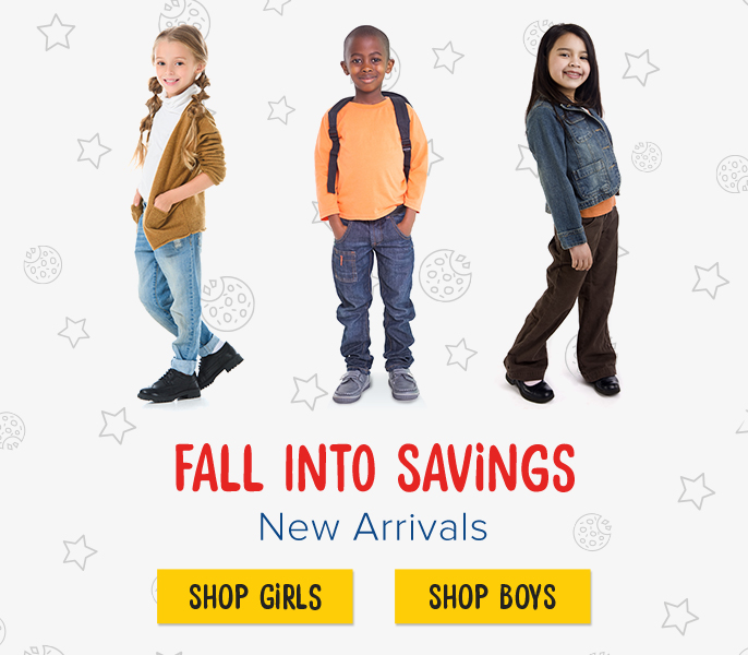 Fall Into Savings. New Arrivals.