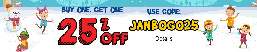 For A Limited Time Only. Buy One, Get One 30% Off All Outfit Sets / Buy One, Get One 25% Off Everything Else. Use code: JANBOGO25. Expires 1/21/2021, 11:59 PM PST.