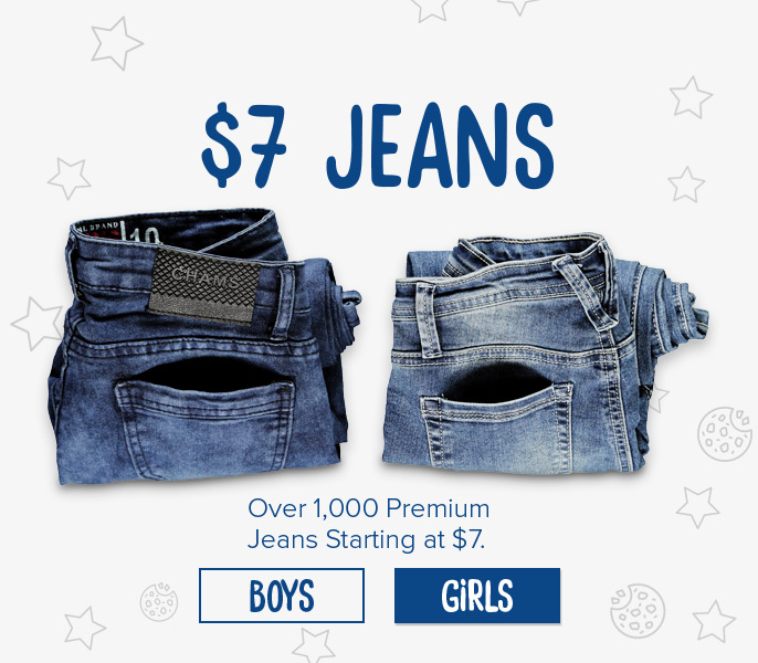 $7 Jeans - Over 1000 Premium Jeans Starting at $7