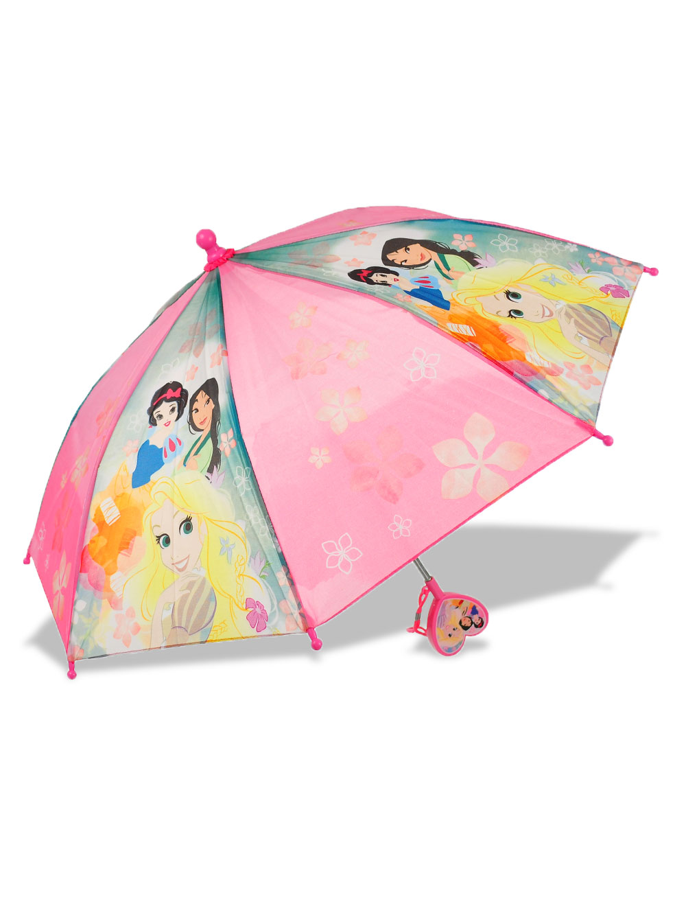 Girls Pink Umbrellas