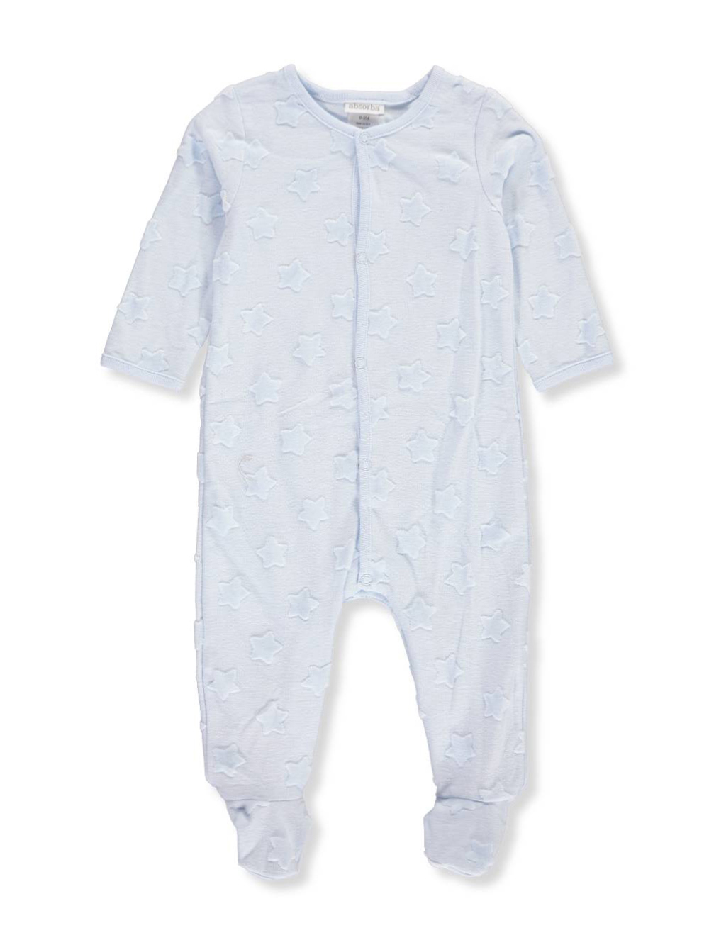 53af3583f Baby Boys' Footed Coverall by Absorba in Blue from Cookie's Kids