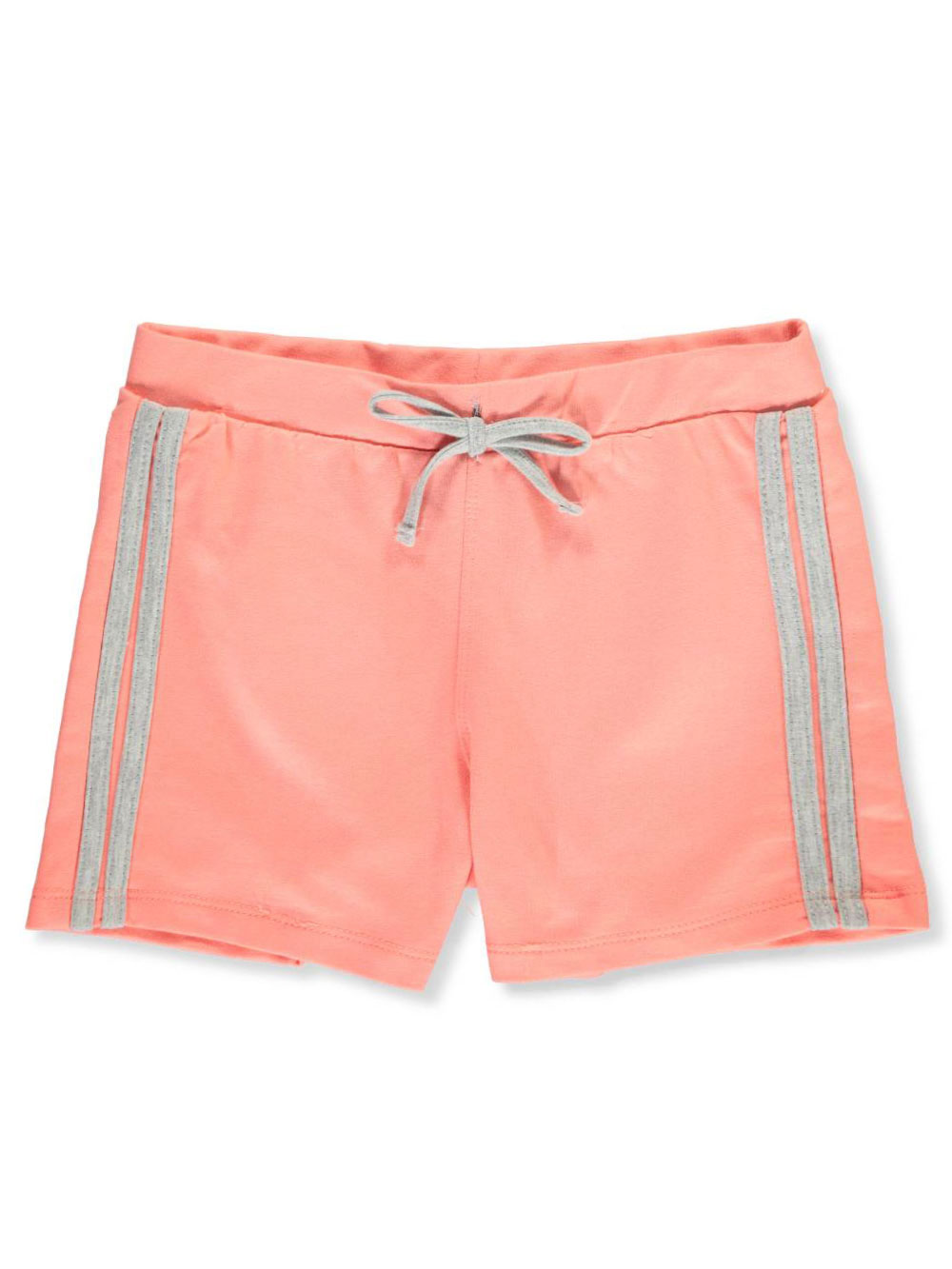 1d7b0a2dd19 Girls' French Terry Shorts by Real Love in coral and mint from ...