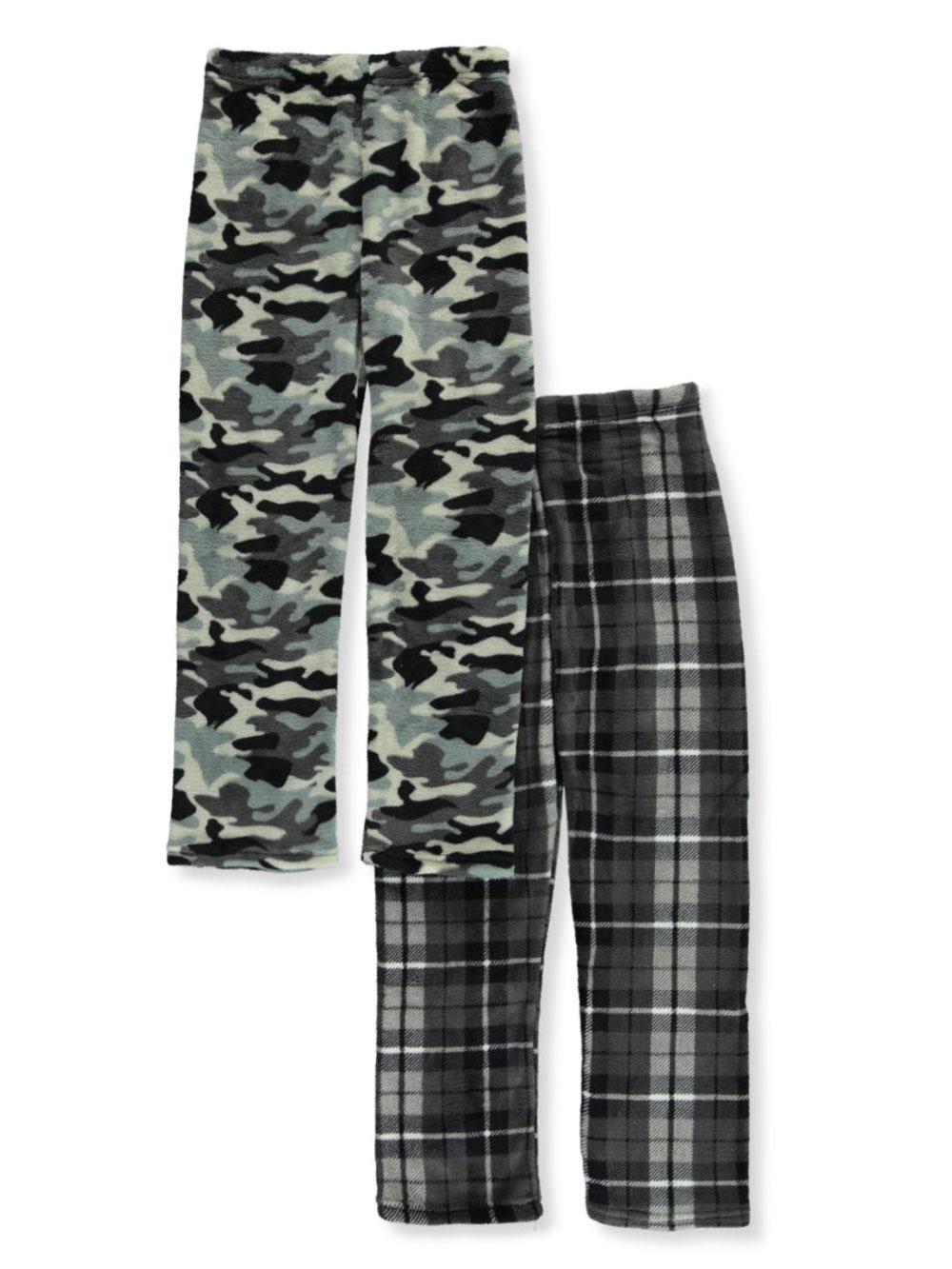 Boyz Club Kids Pajama Bottoms Camo Camouflage Fleece Lounge Pants