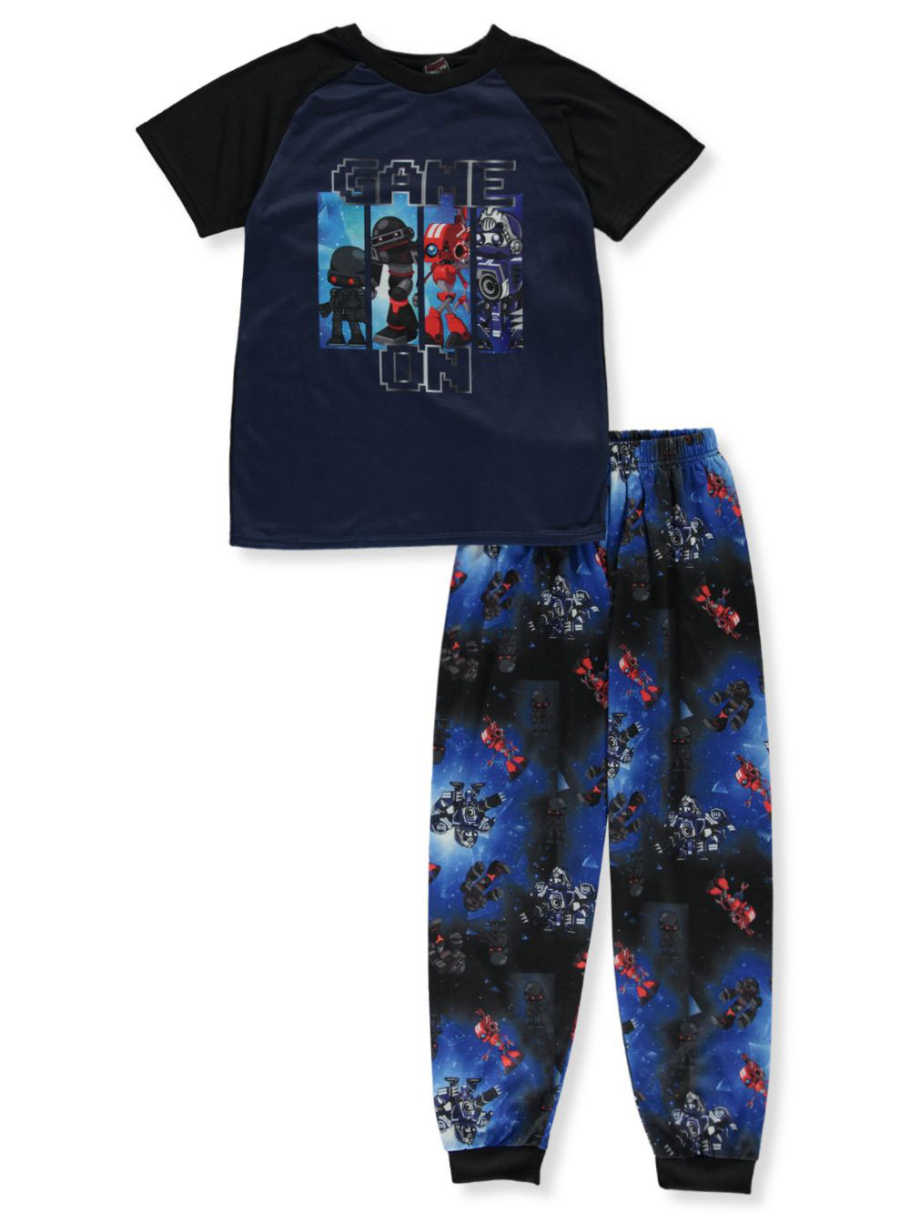 Boys Black and Red Sleepwear