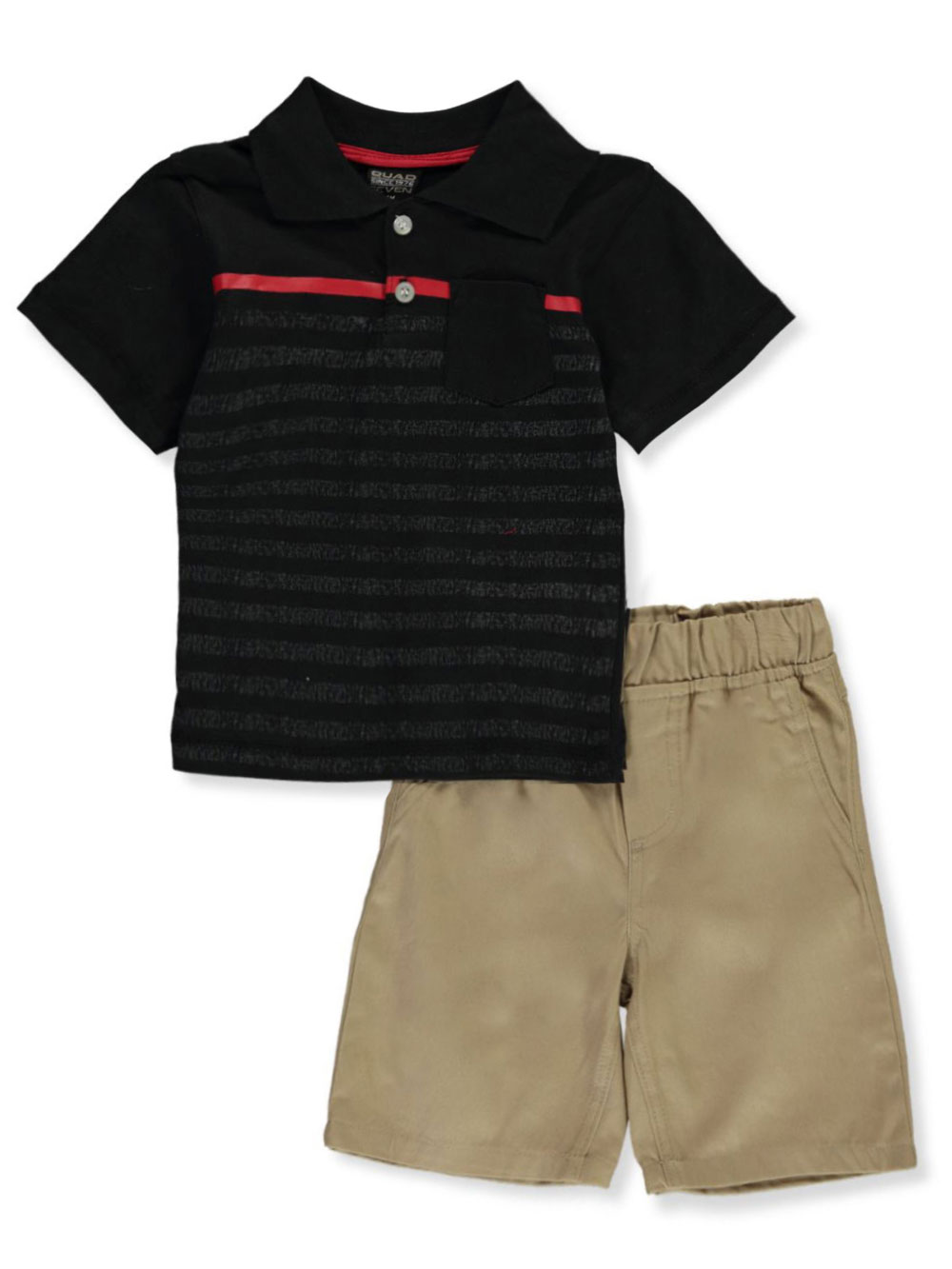 Quad Seven Boys 2-Piece French Terry Short Set
