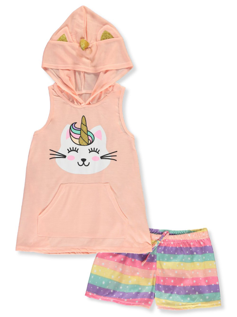 Size 10-12 Pajamas for Girls