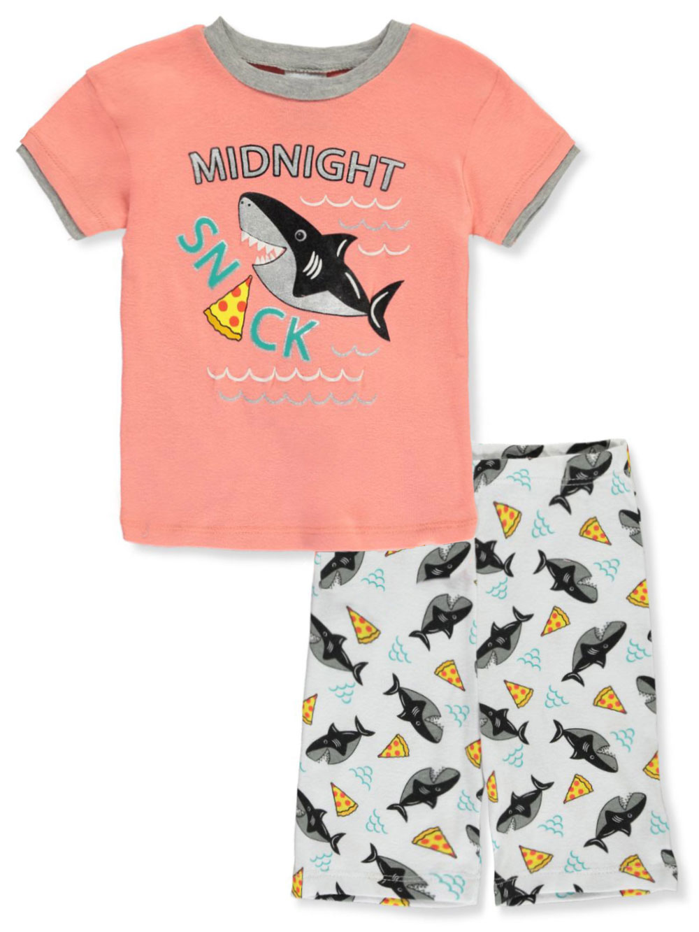 Boys Navy and Multicolor Pajamas