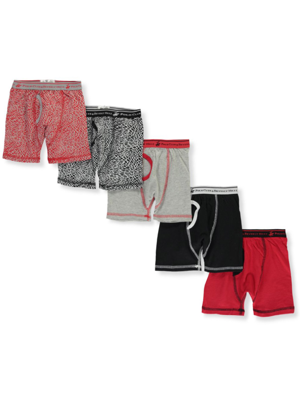 Boys' 5-Pack Boxer Briefs