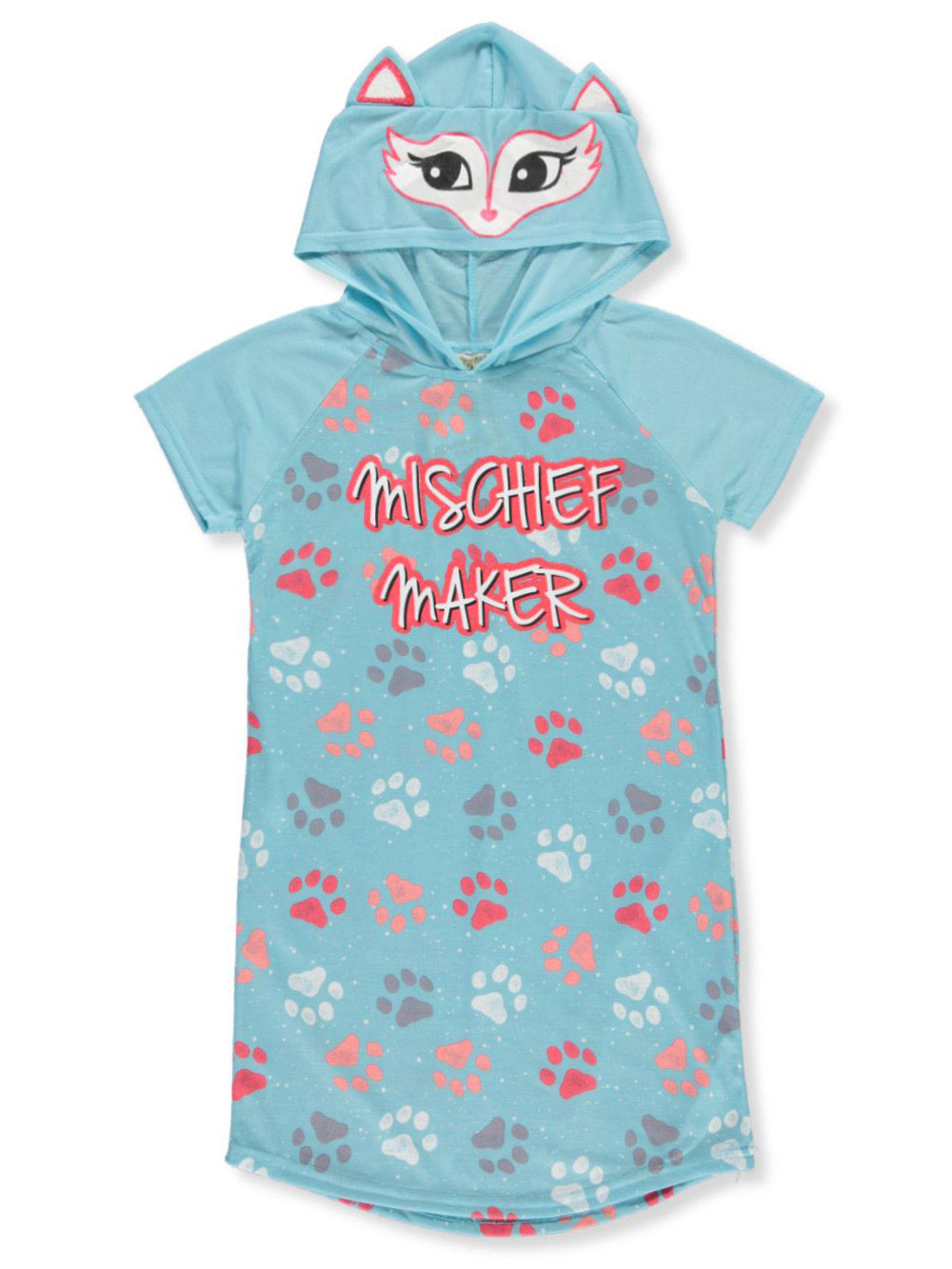 Girls Fashion Hooded Nightgown