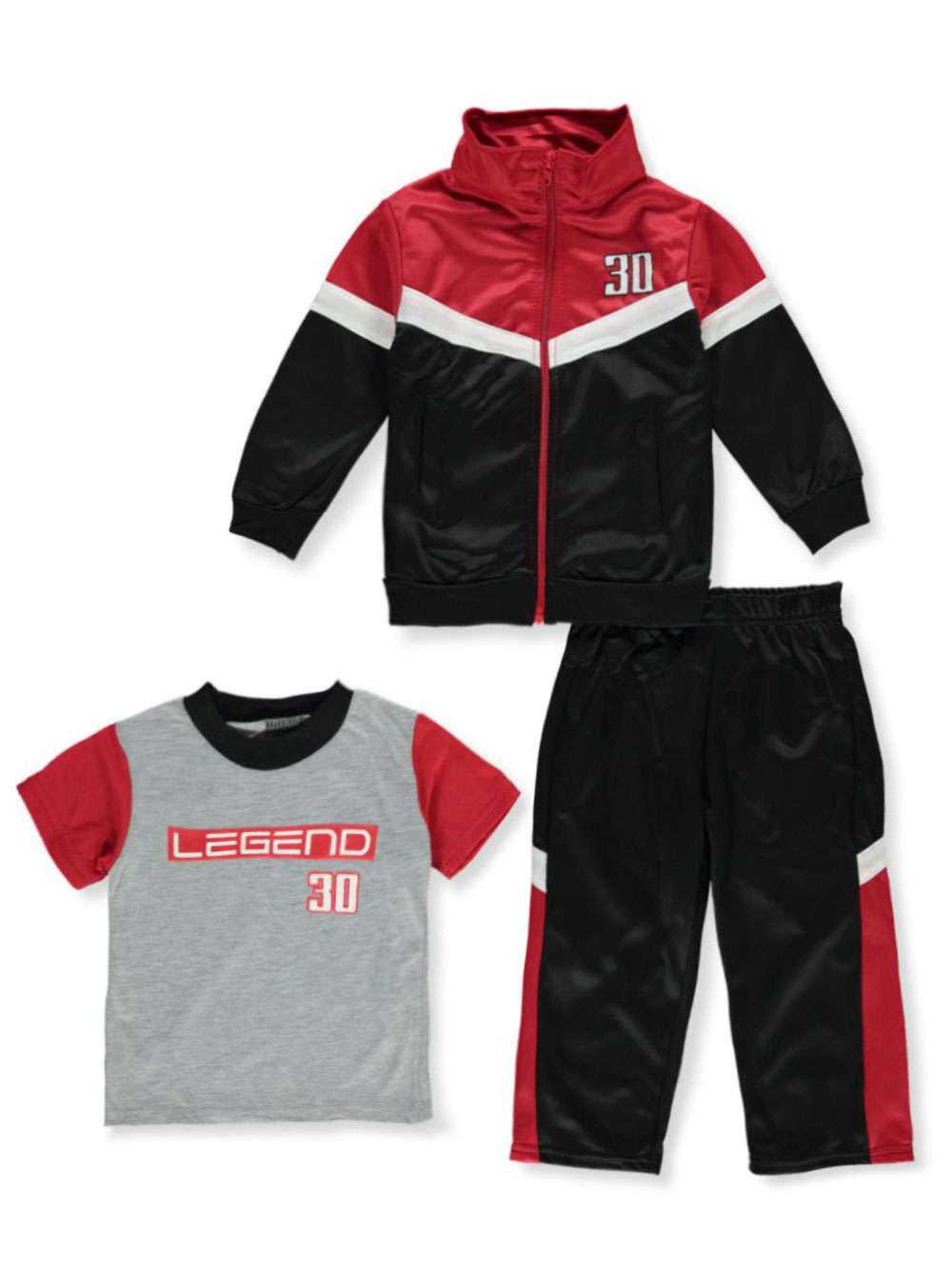 Active Sets 3-Piece Tracksuit Outfit