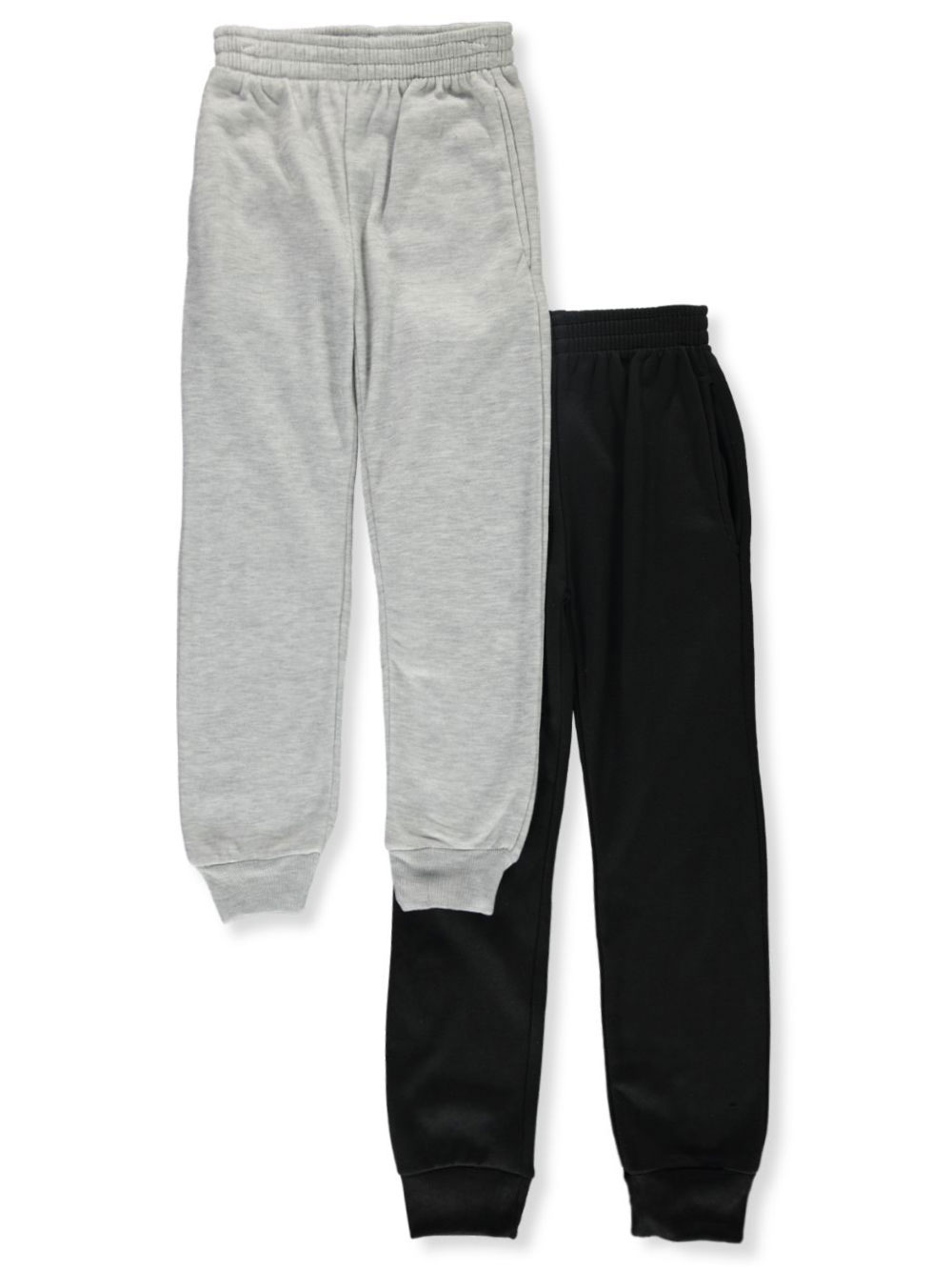 Navy and Gray Sweatpants