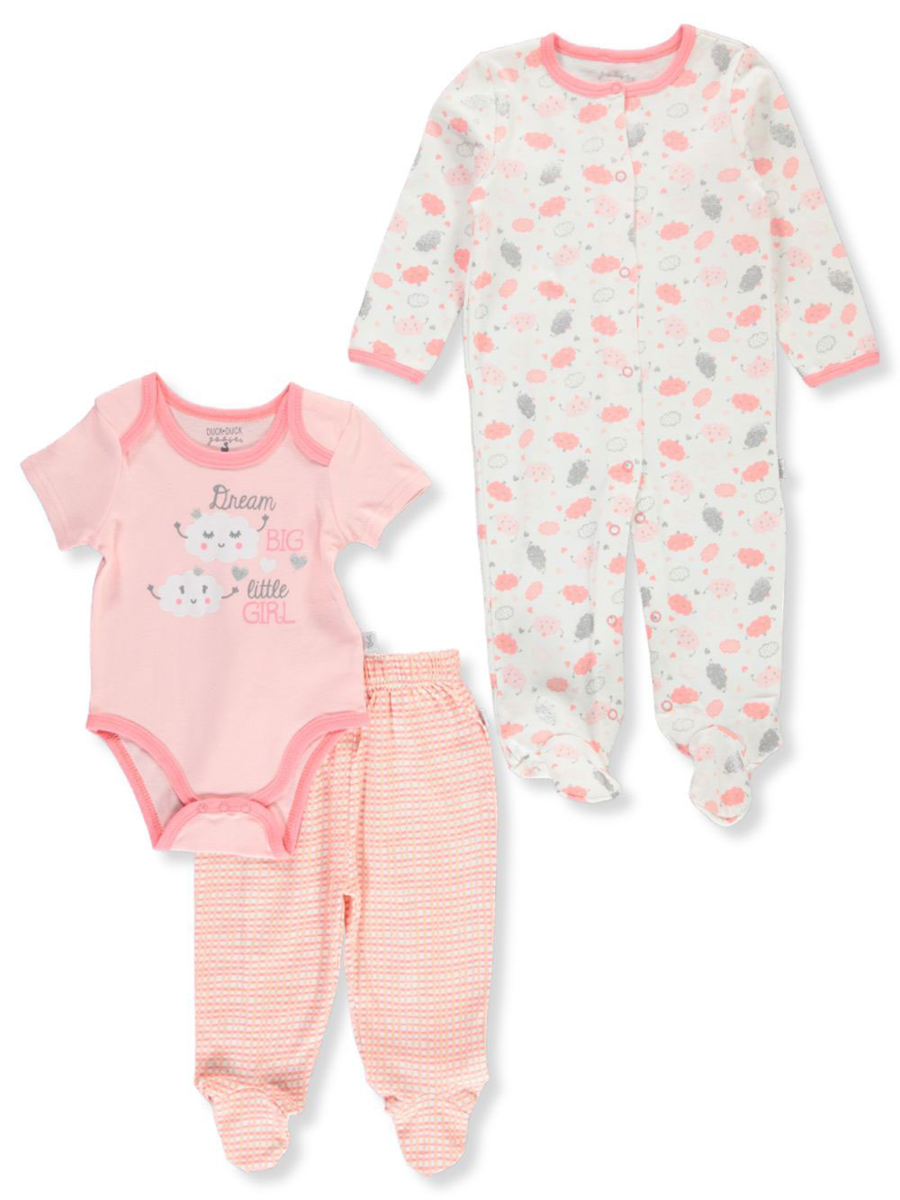 Girls' 3-Piece Accessories Set