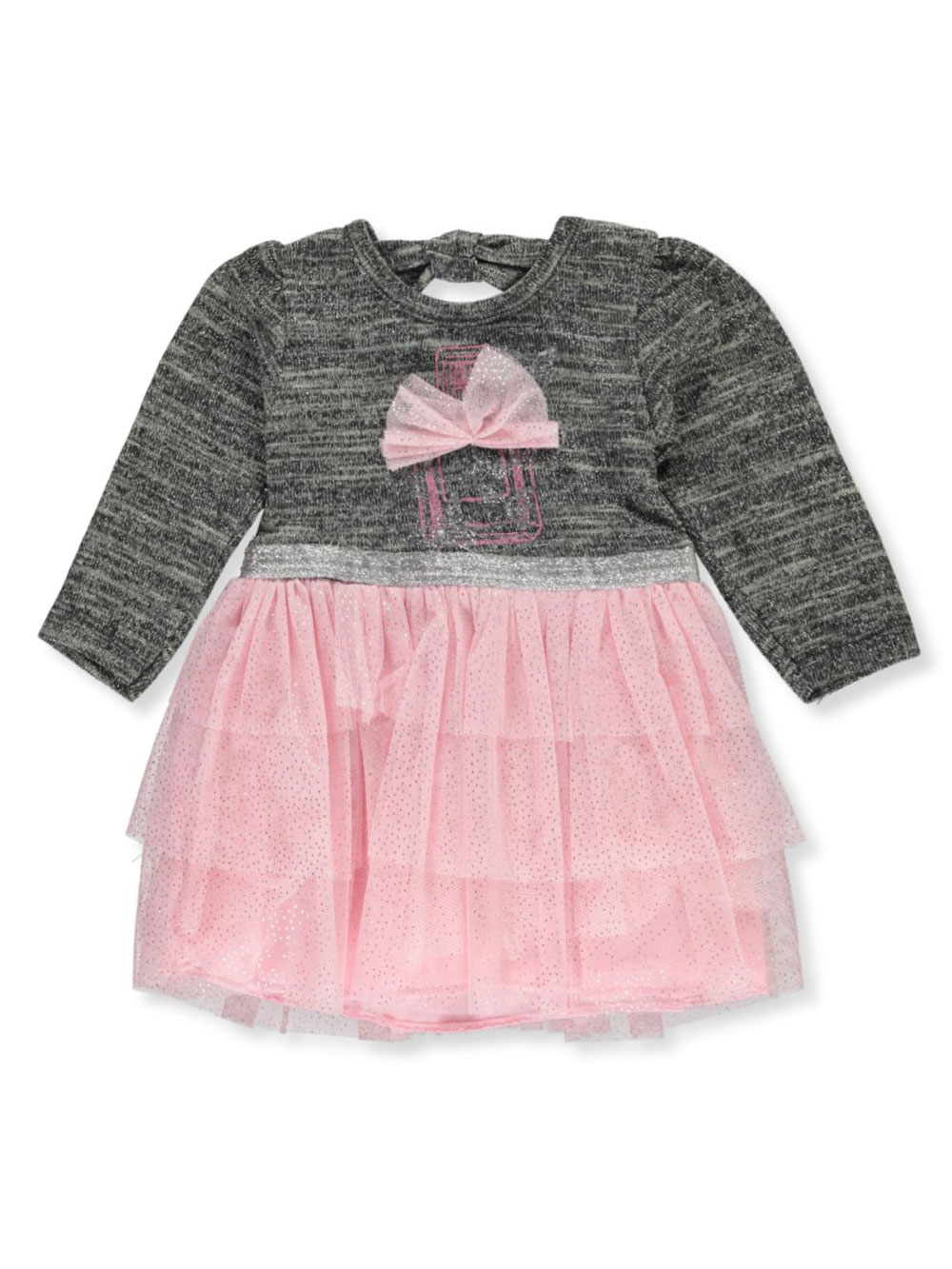 Gray Newborn Dresses