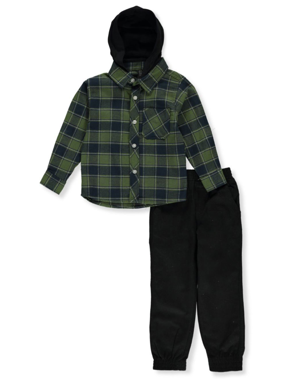 Boys Green and Multicolor Sets