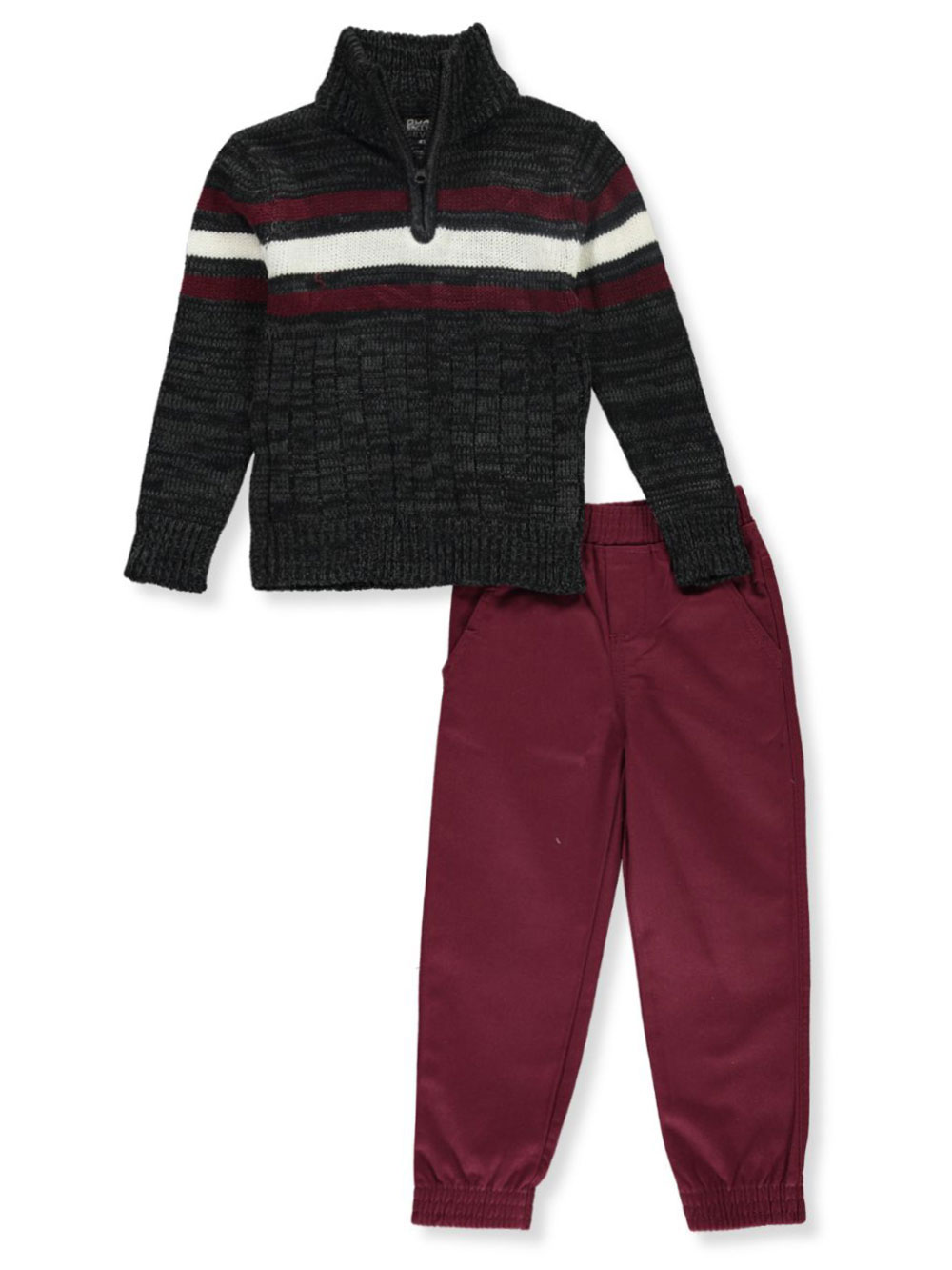 Boys Navy and Multicolor Pant Sets