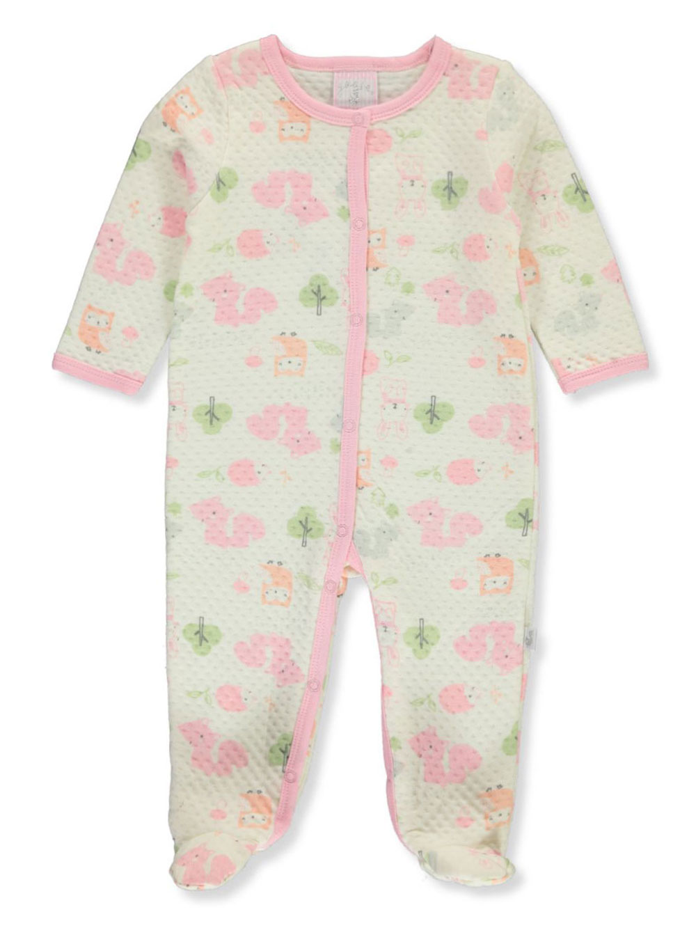 Ivory and Multicolor Coveralls
