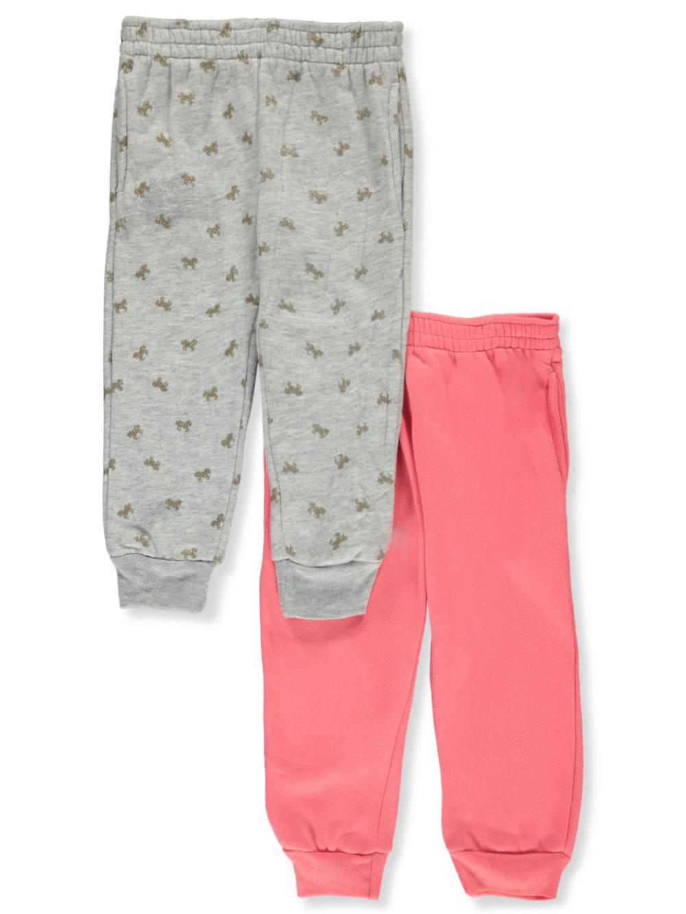 Girls' 2-Pack Joggers