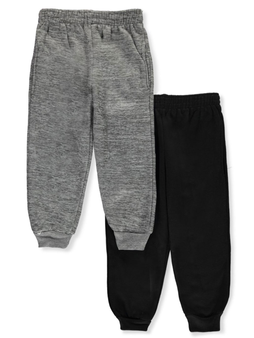 Gray and Black Sweatpants