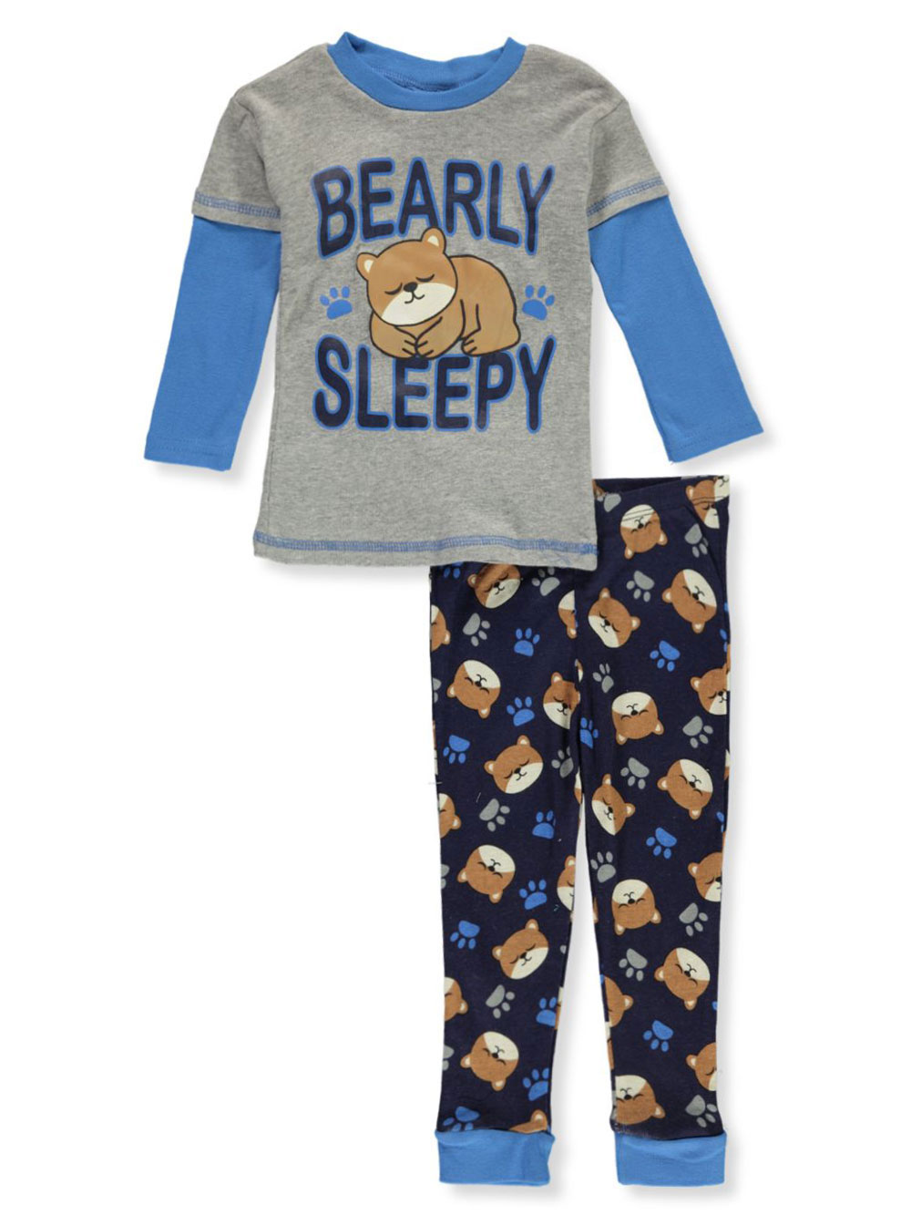 Boys Gray Multi Pajamas
