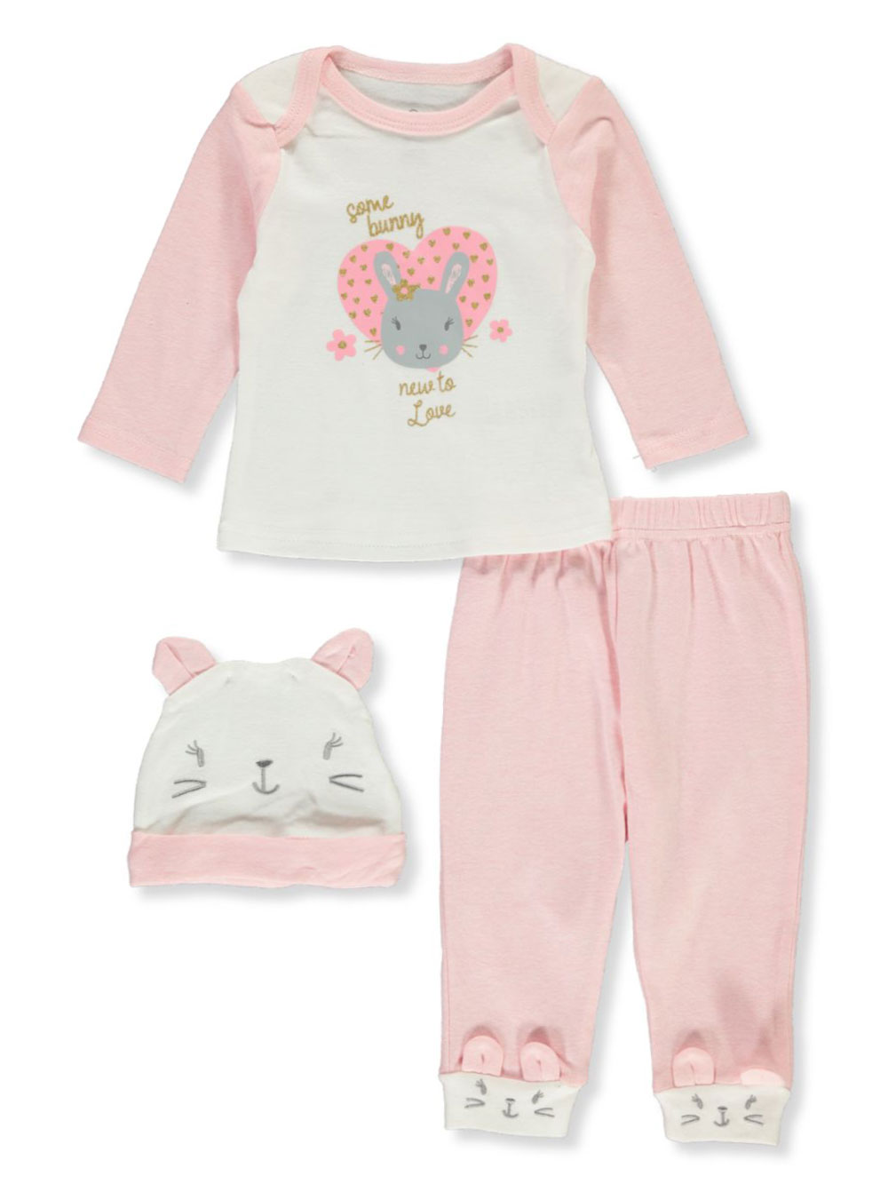 Pant Sets 3-Piece Layette Set