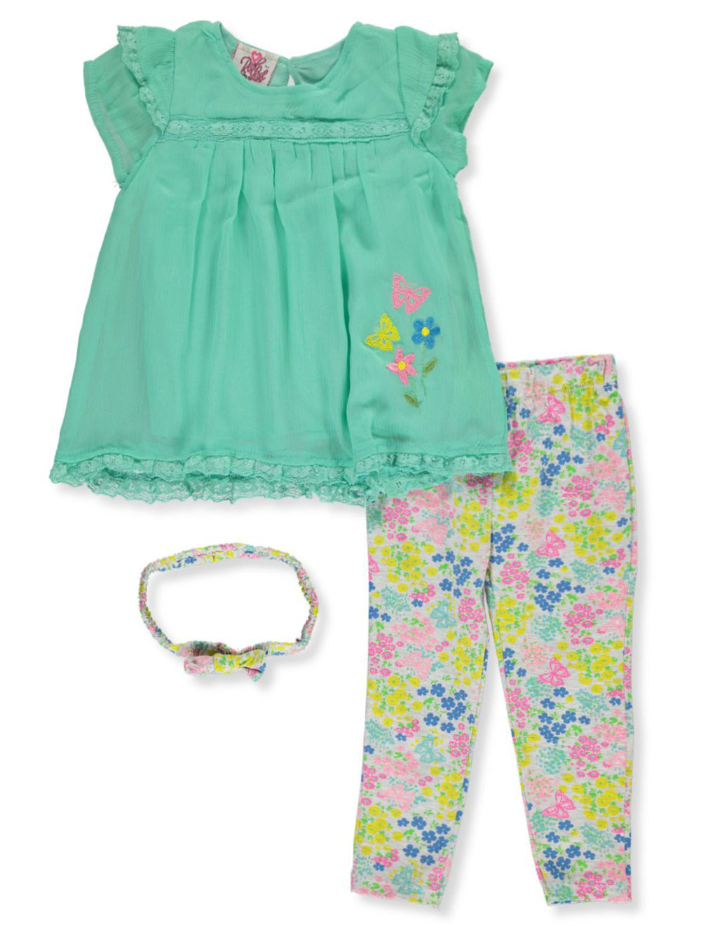 Pink and Multicolor Pant Sets