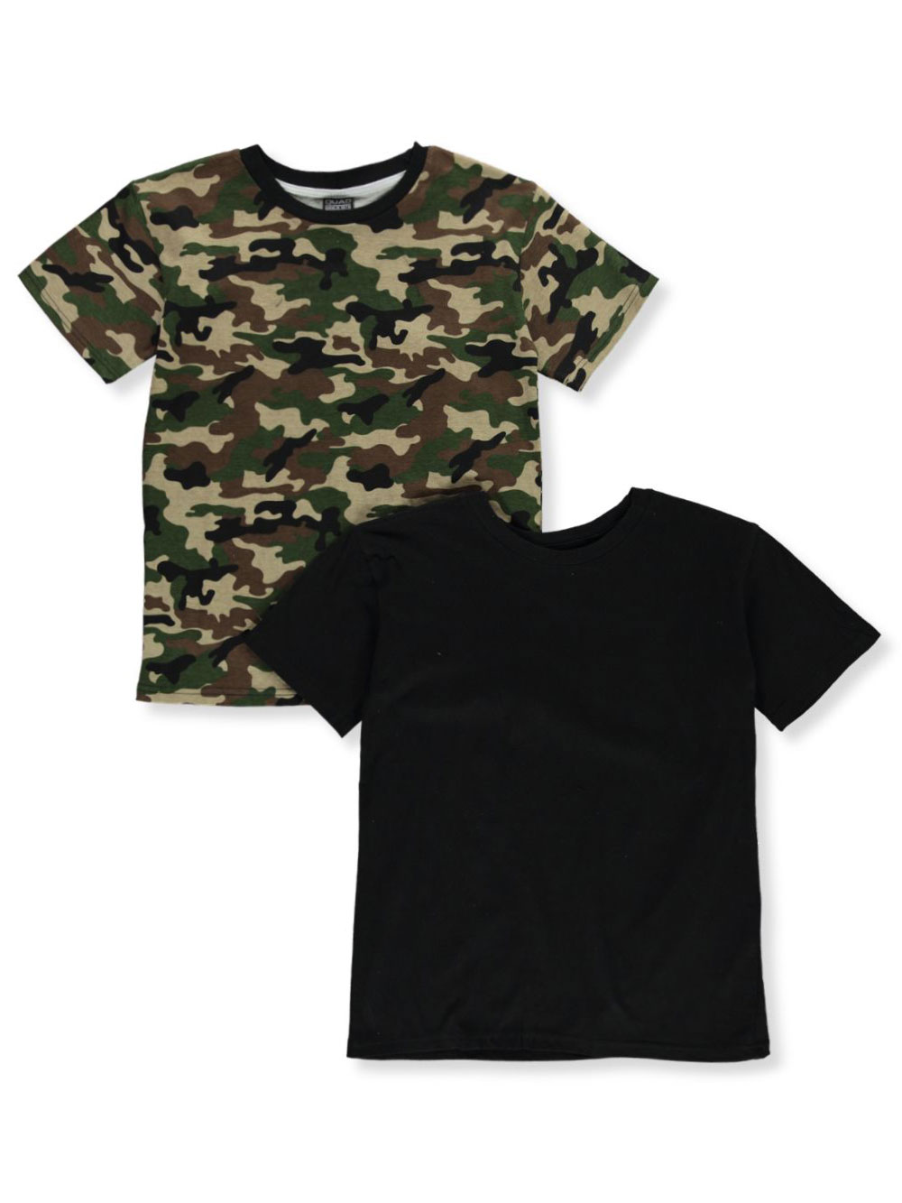 Boys Black Camo T-Shirts