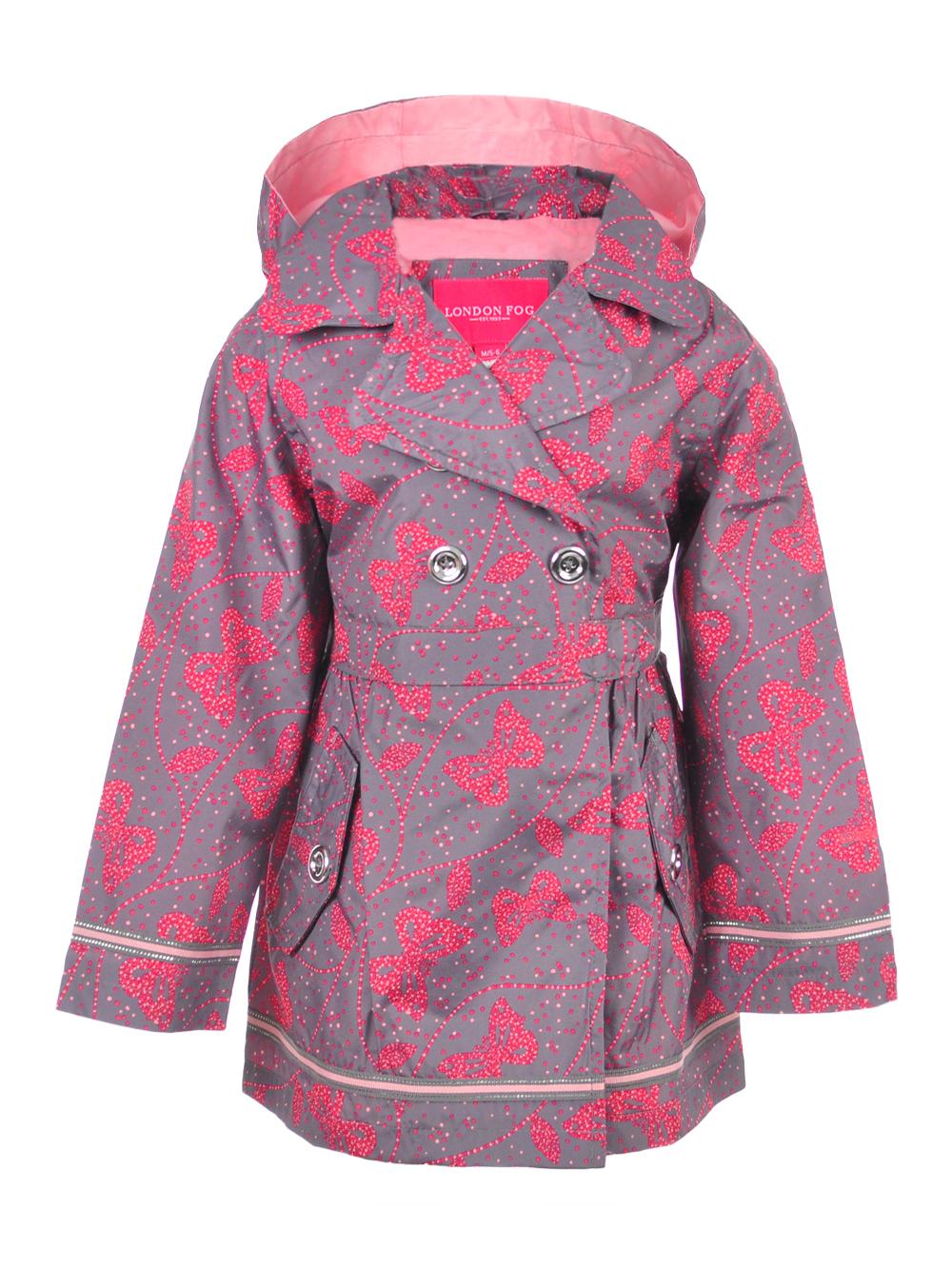 94a87f758 London Fog Girls  Hooded Raincoat