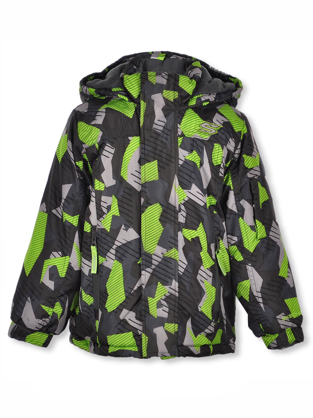Boys' Sharp Geo Camo Insulated Jacket
