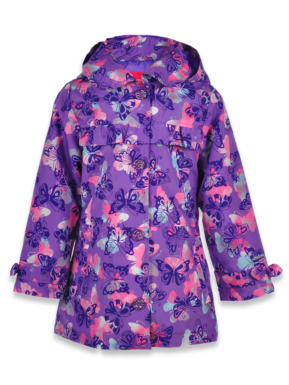 Jackets Allover Butterfly Print