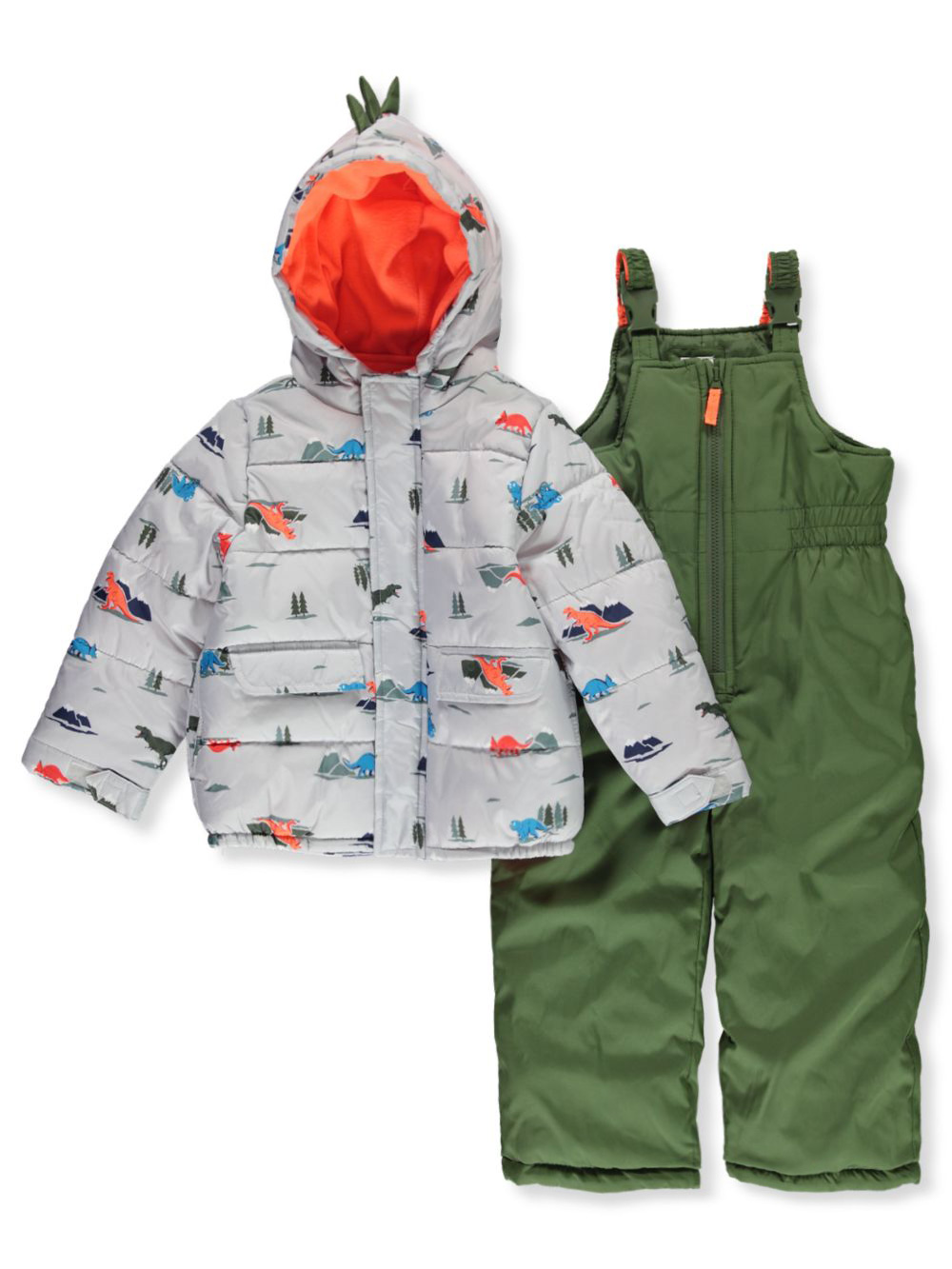 Gray Snowsuits