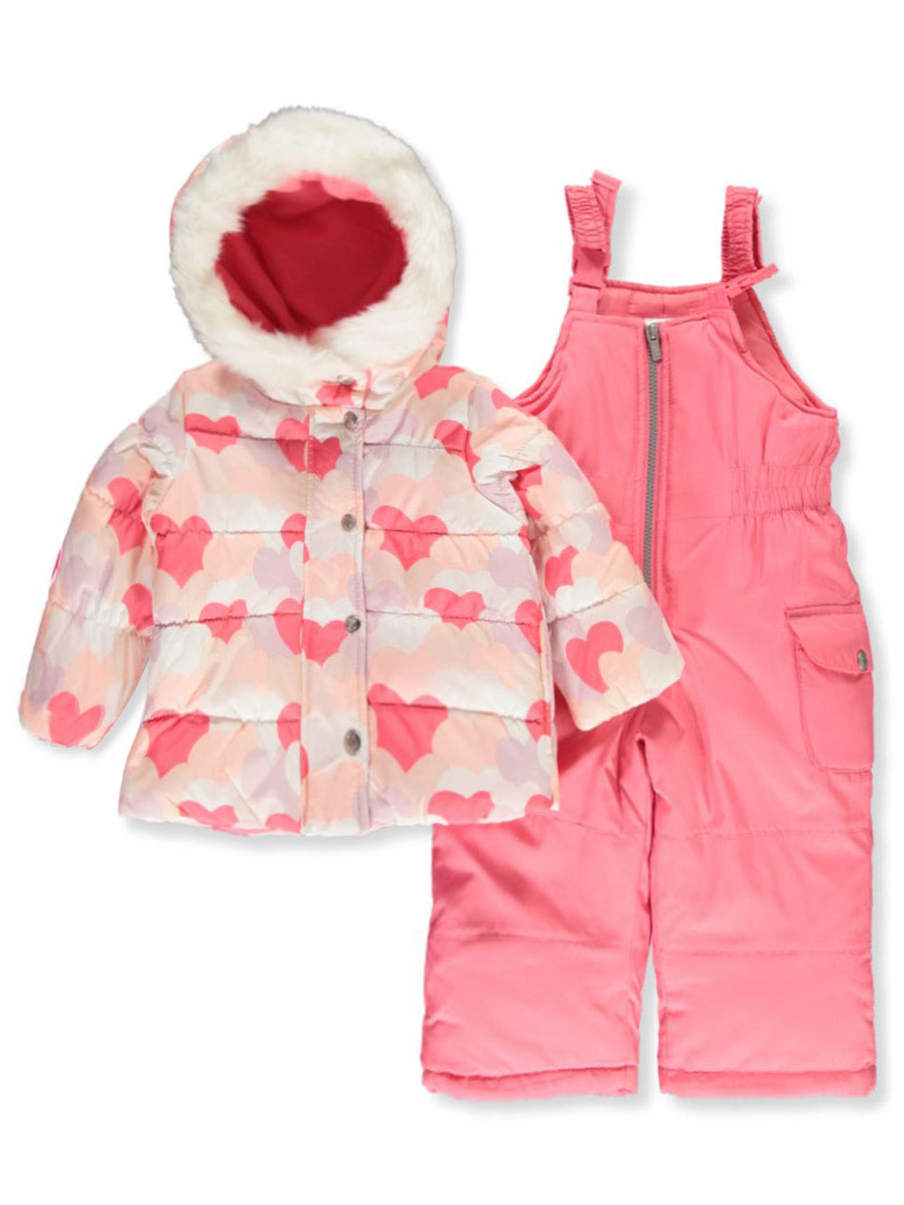 Girls Hearts Snowsuits