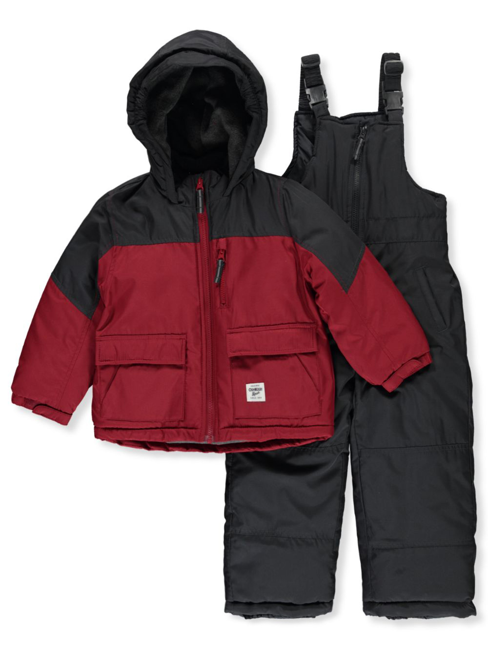 Boys Red Snowsuits