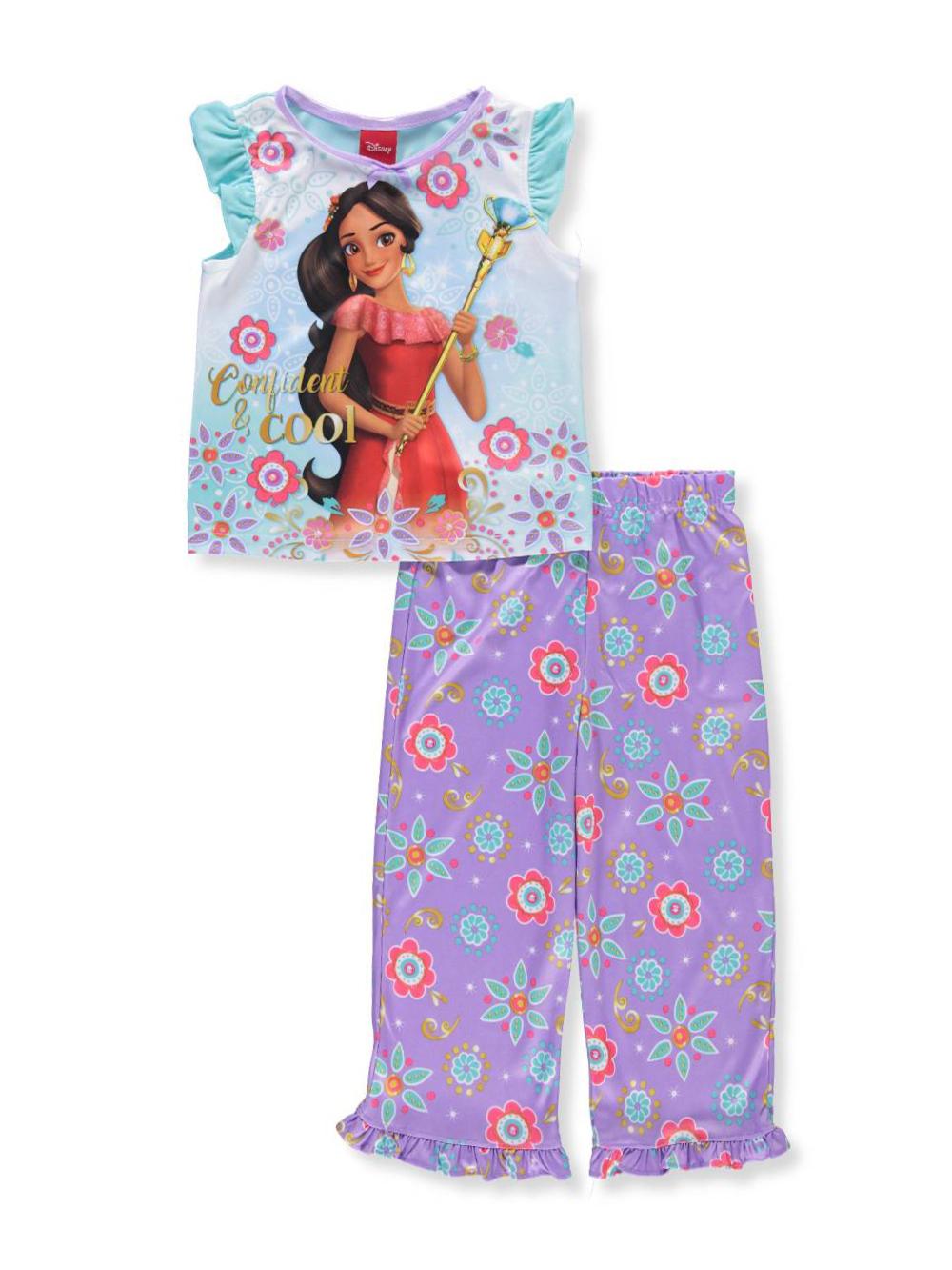 Disney Girls 2 Piece Elena of Avalor Pom Pom Short Set