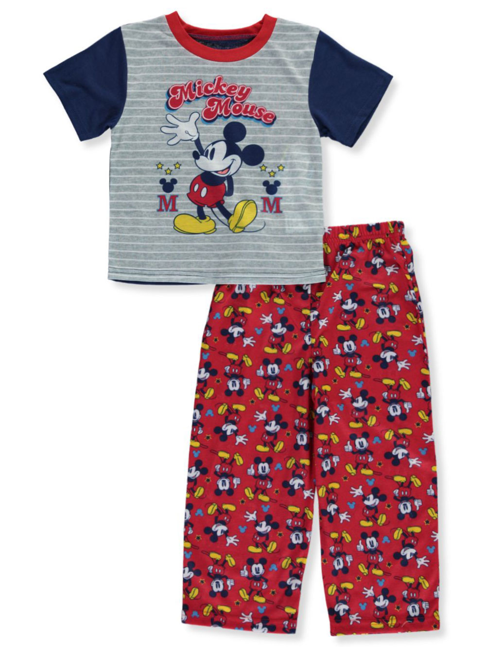 Boys Gray/red Sleepwear
