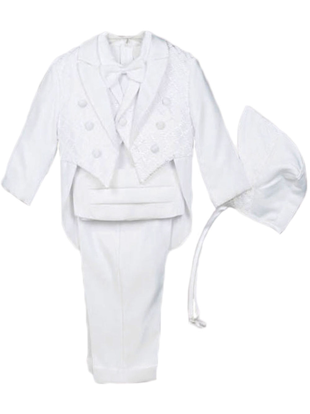 Baptism and Christening 5-Piece Christening Tuxedo