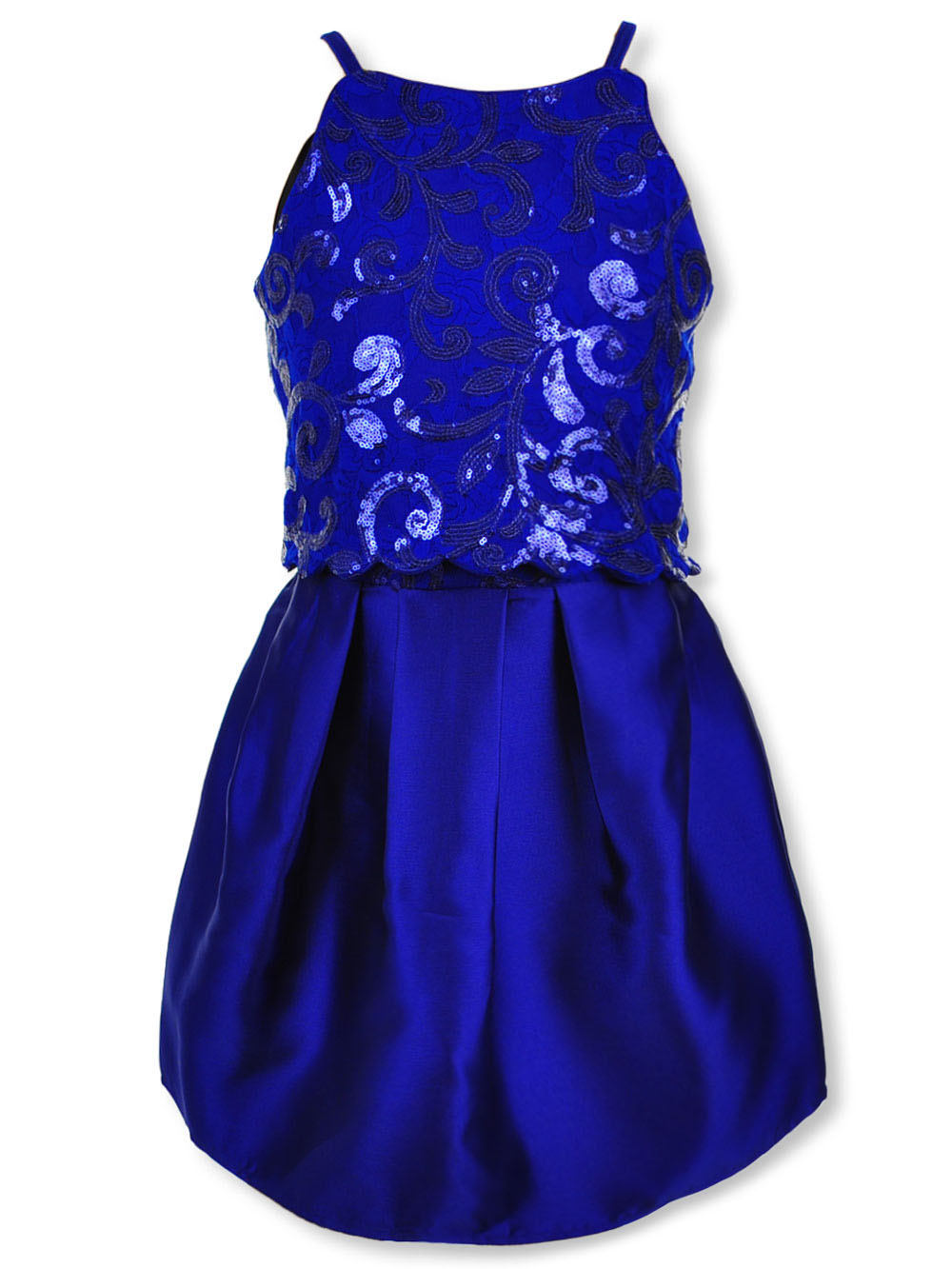 Amy Byer Girls Big Picture Perfect Lace Skirt