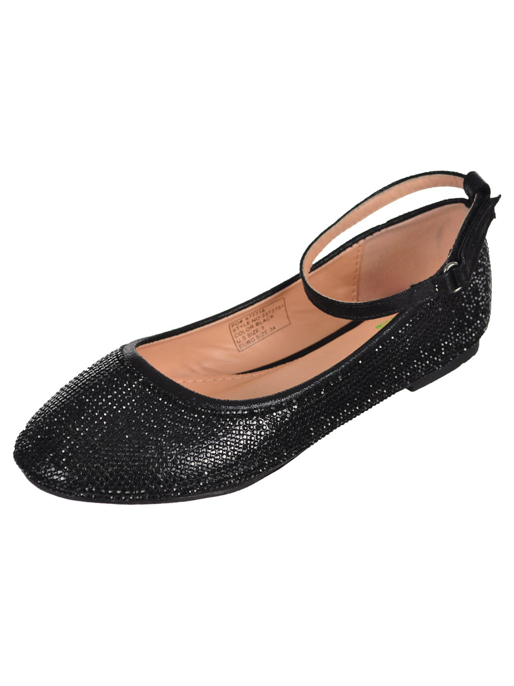 Size 2 Youth Dress Shoes for Girls