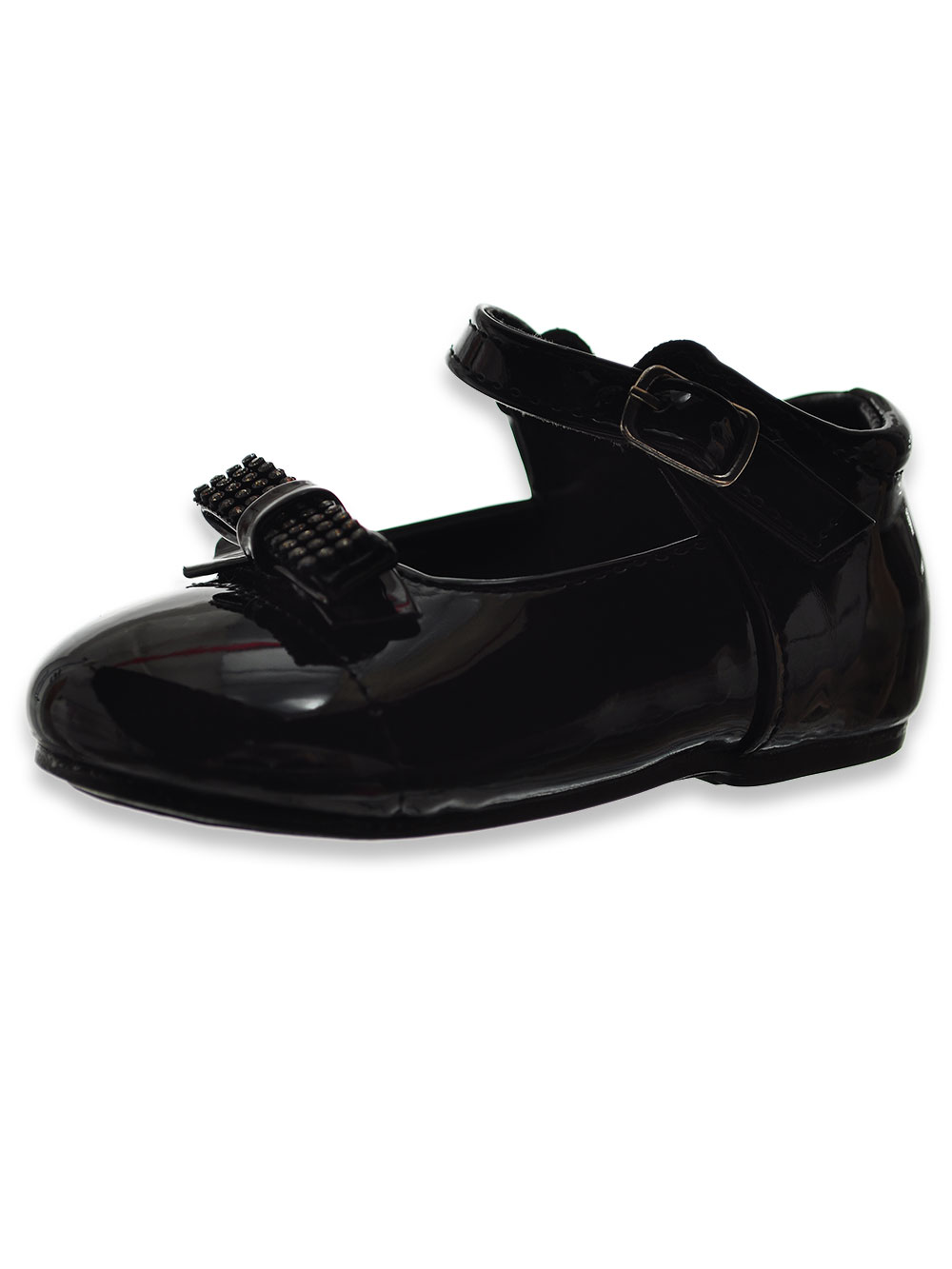 Girls' Bow-Tie Mary Janes Shoes